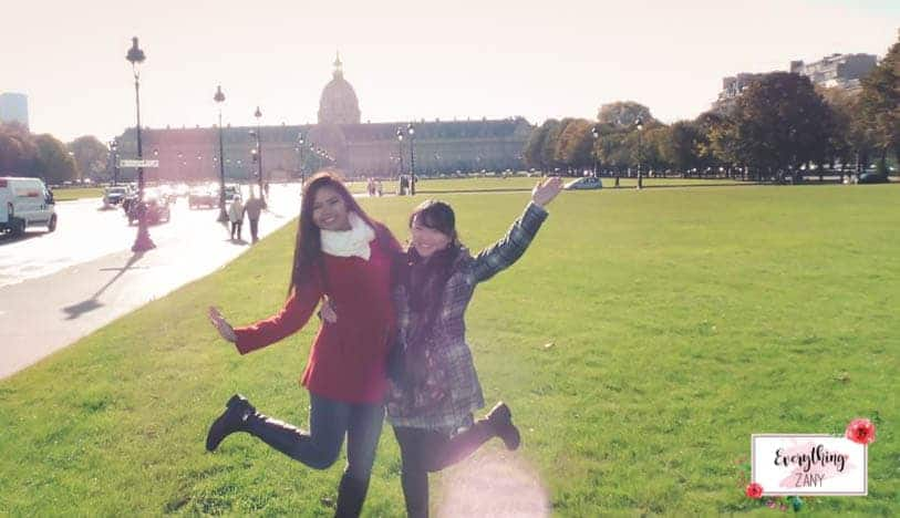 In Paris with Jam, my bff!