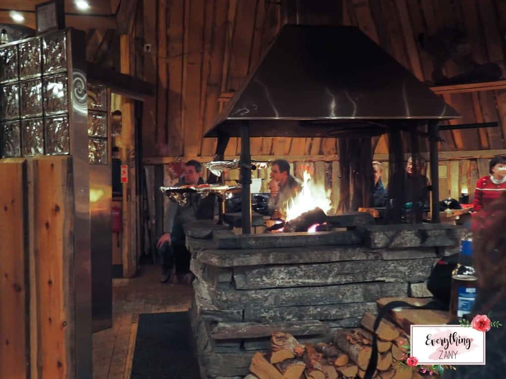 Inside the Gabba Restaurant