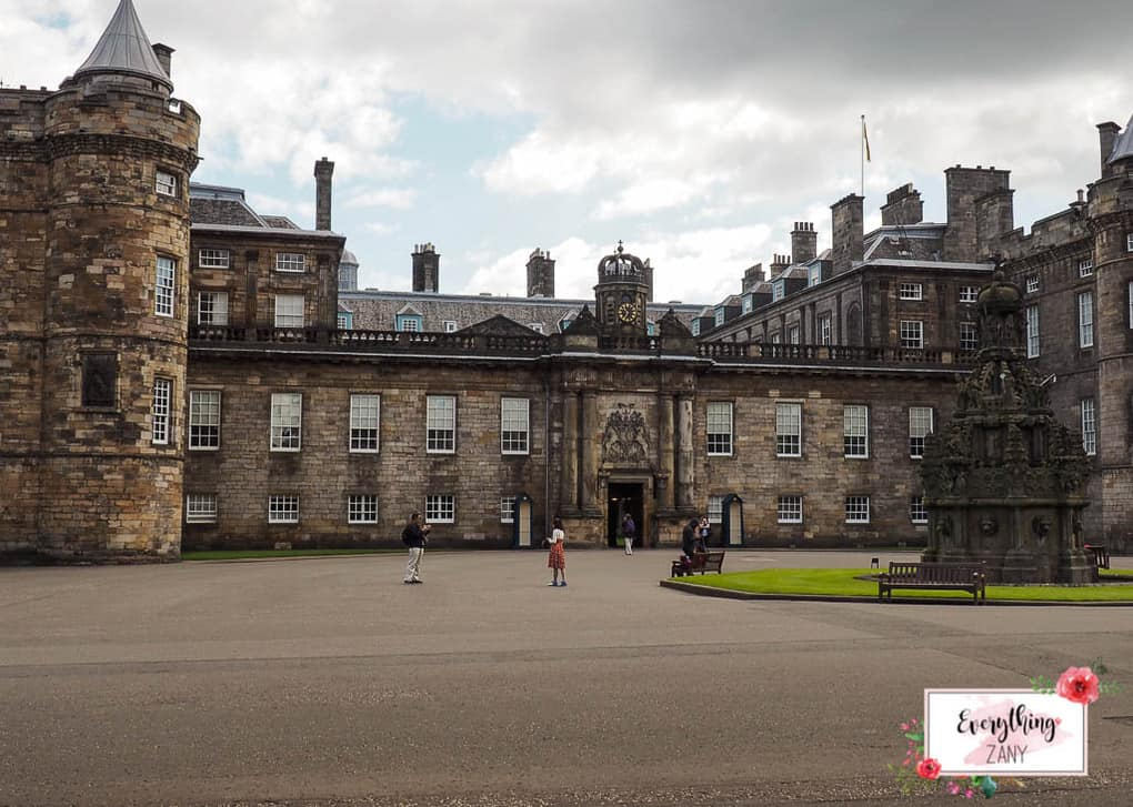 Palace of Holyrood - Best Castles and Palaces to Visit in the United Kingdom