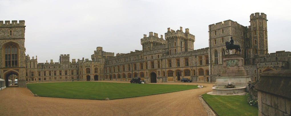 Windsor Castle in Windsor, Berkshire