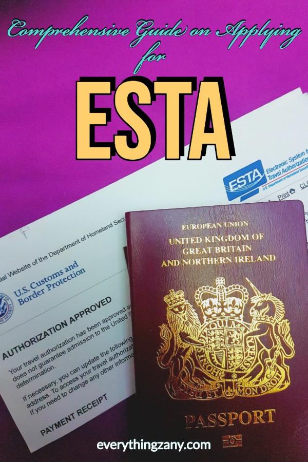 Comprehensive Guide on Applying for Esta