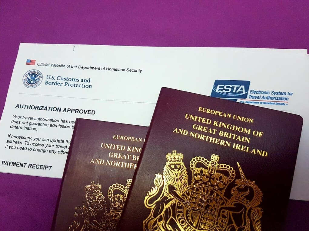 ESTA with British Passport
