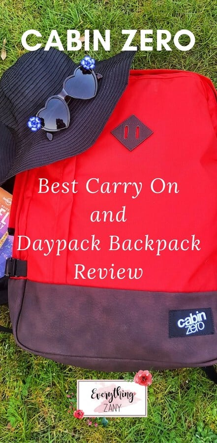 cabin zero backpack review
