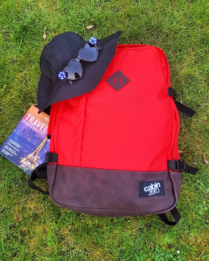 Cabin Zero My Sore Red Backpack 44L