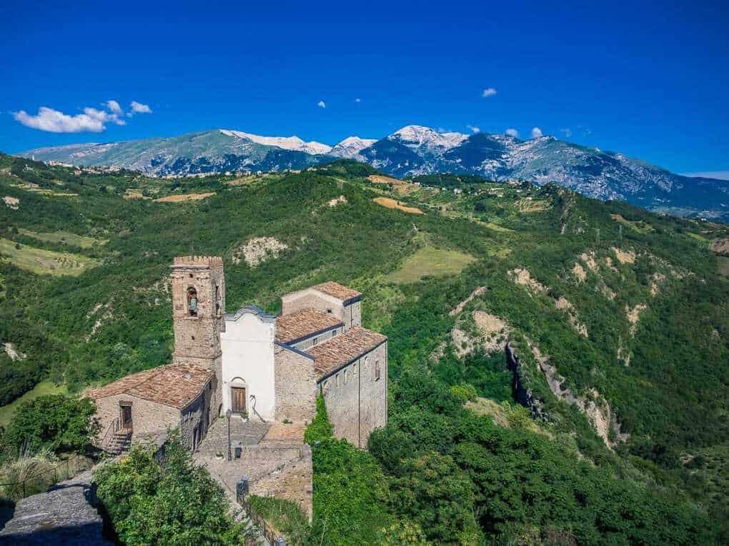 Rossacalegna Abruzzo Italy