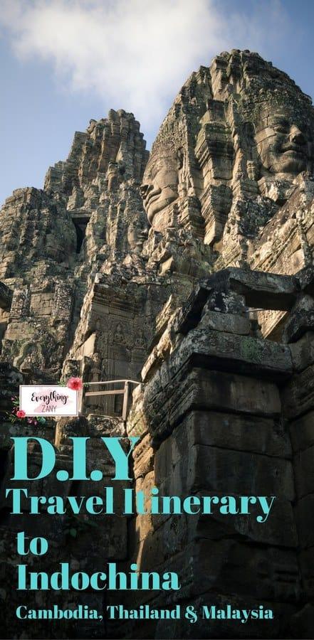 DIY Travel Itinerary to Indochina (Cambodia, Thailand and Malaysia) v2
