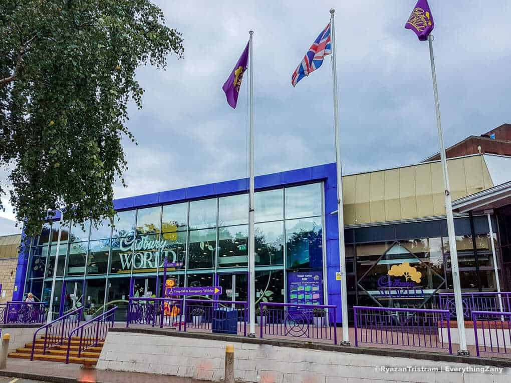 Family day out in Cadbury world