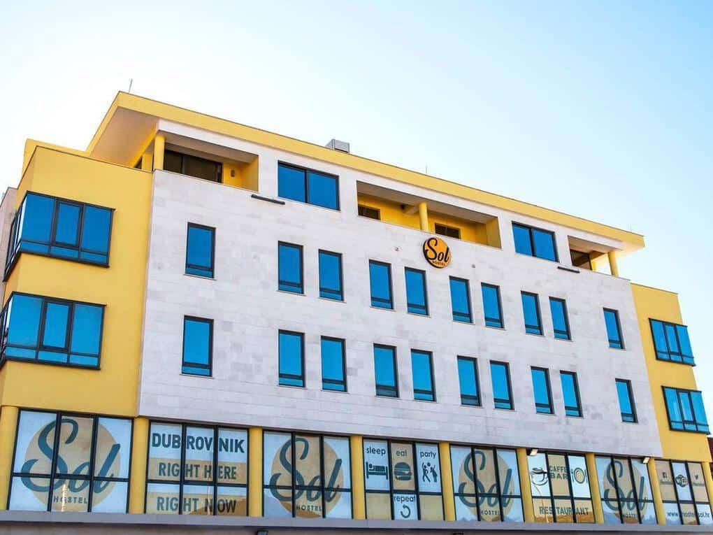 Hostel Sol Dubrovnik Facade