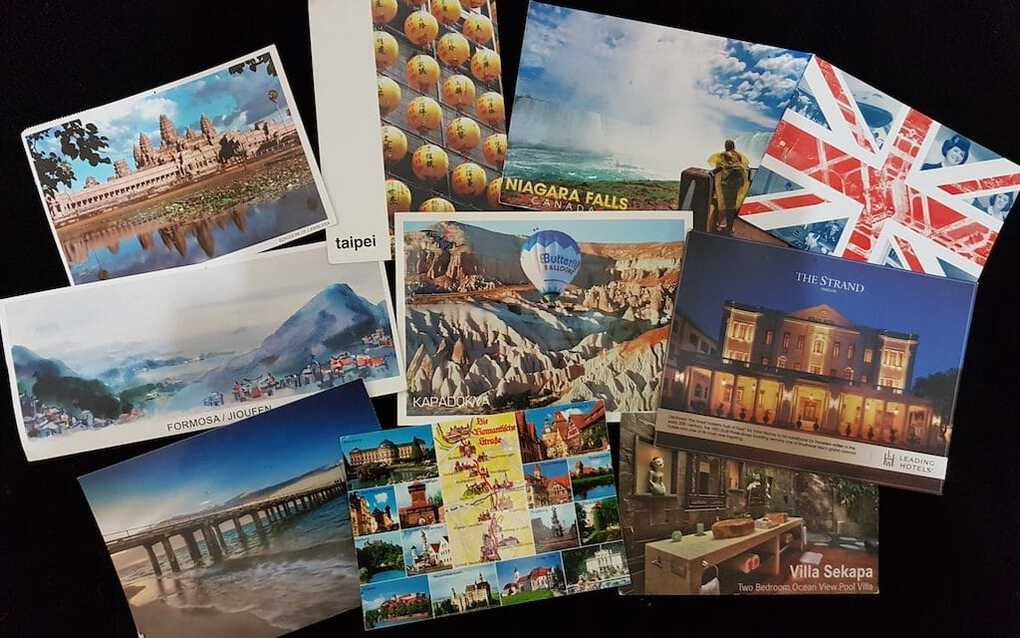 Travel Postcard Registration of Everything Zany