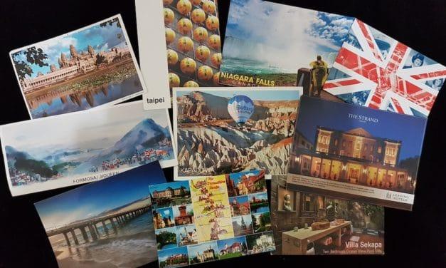 Travel Postcard Registration of Everything Zany