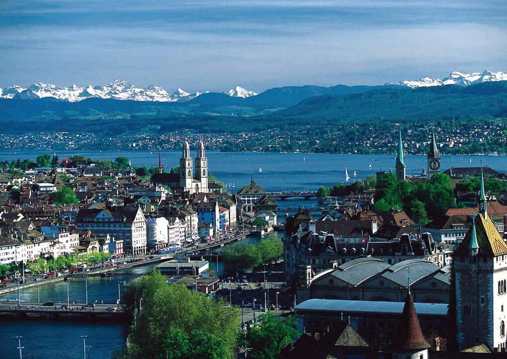 Zurich, Switzerland: The Most Romantic Honeymoon Destinations in Europe