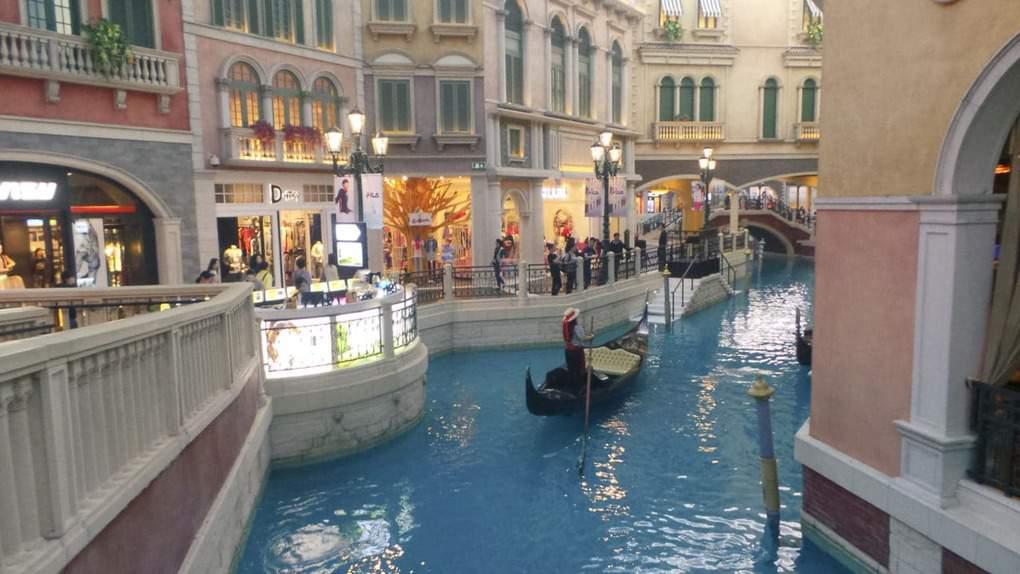Gondola Ride in Venetian Macau