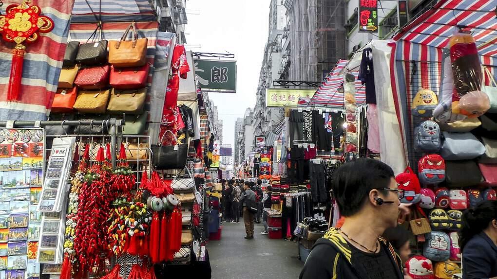 Ladies Evening Market in Mong kok