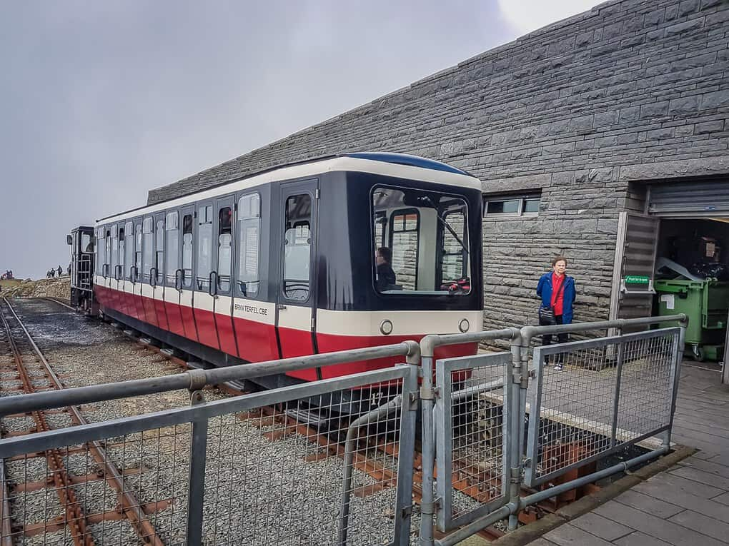 snowdonia mountain railway summit station