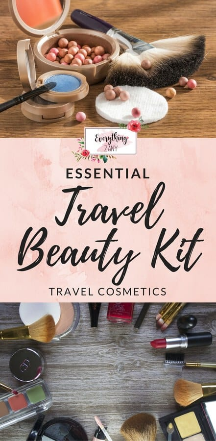Essential Travel Beauty Kit for Women (Travel Cosmetics)