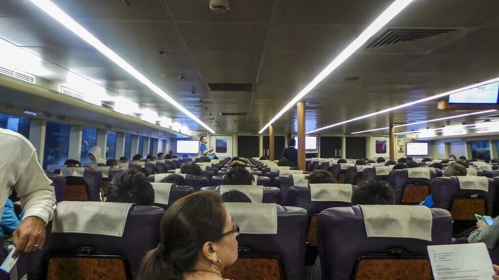 ferry ride from macau to hong kong kowloon