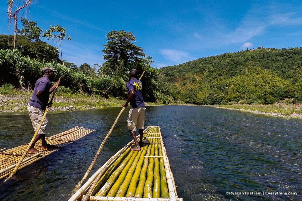 River rafting in Rio Grande Jamaica