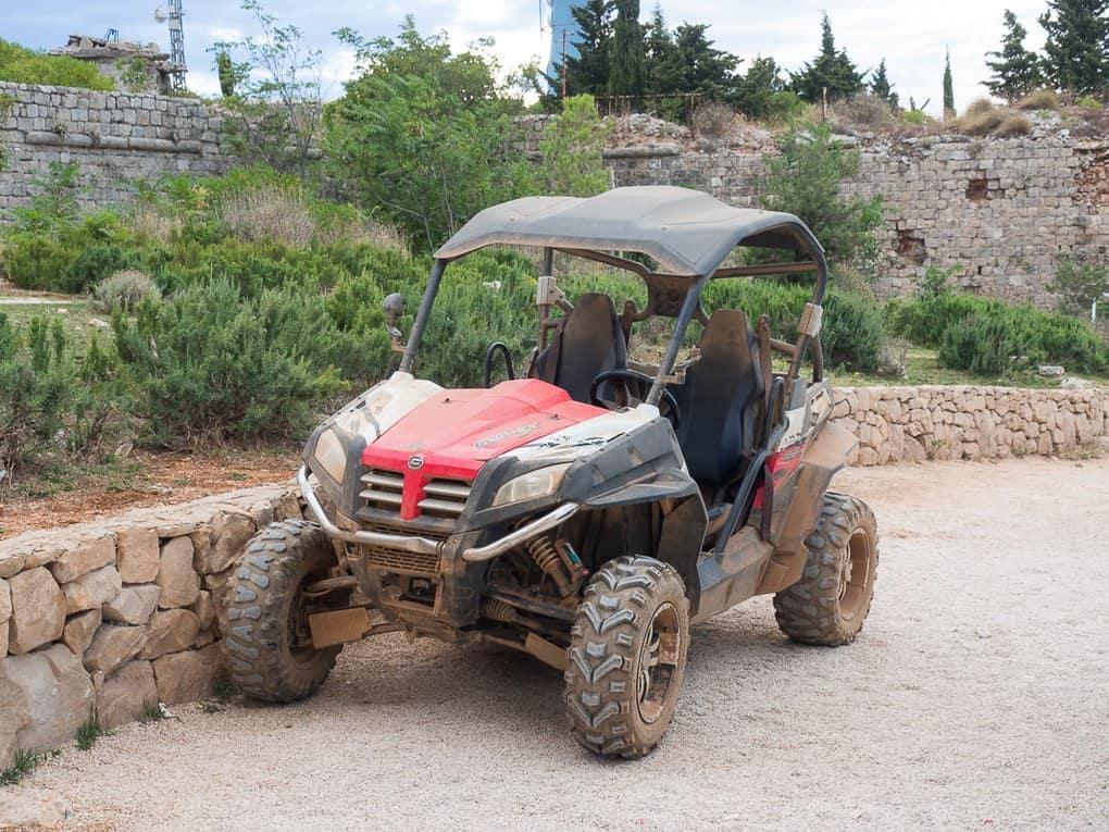 Dubrovnik buggy on mount srd