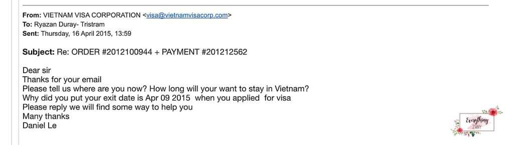 vietnam visa online scam complaint
