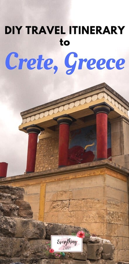 Palace of Knossos in Heraklion, Crete, Greece