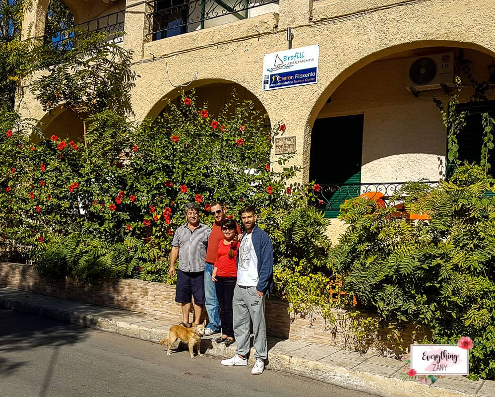 Travelopo Crete Apartment with our hosts