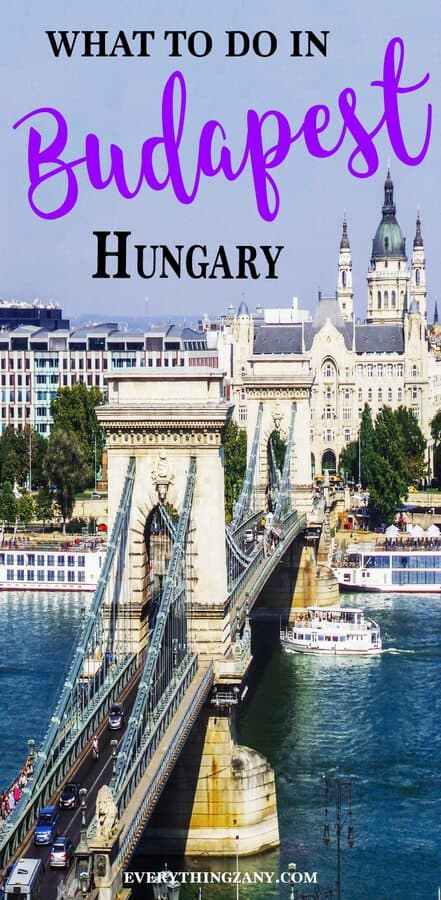 Things to do in Budapest Chain Bridge