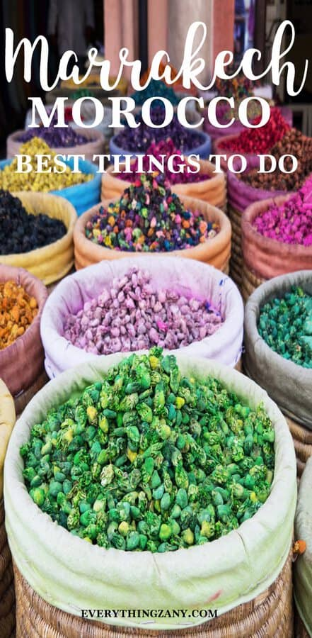 things to do in Marrakech Spices