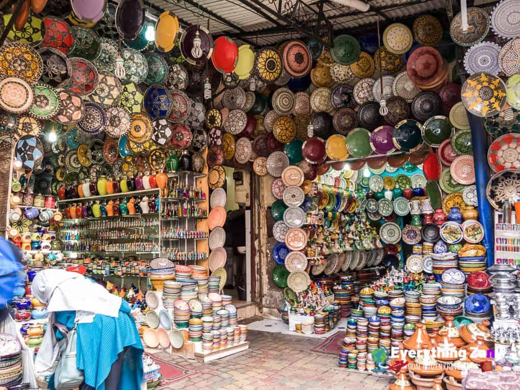 Souk of Marrakech Morocco