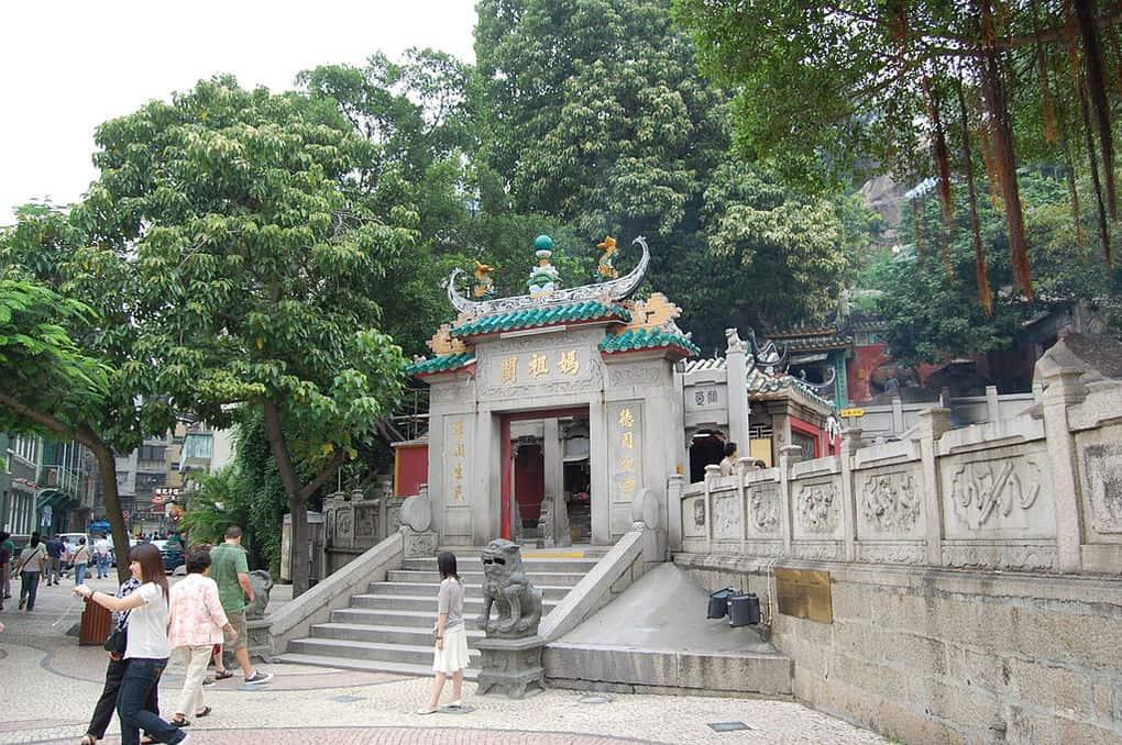 A Ma Temple In Macau