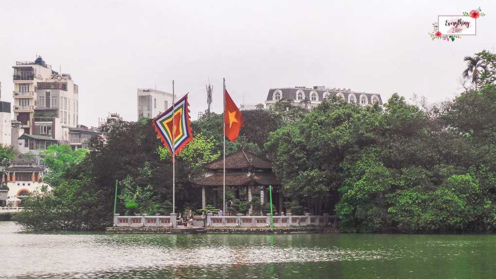 things to see in Hanoi - Ngoc Son Temple in Hanoi