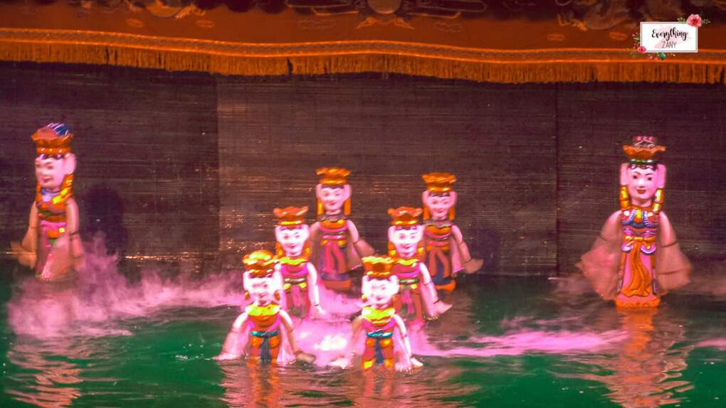 What to see in Hanoi -  Watch Water Puppet Show in Hanoi
