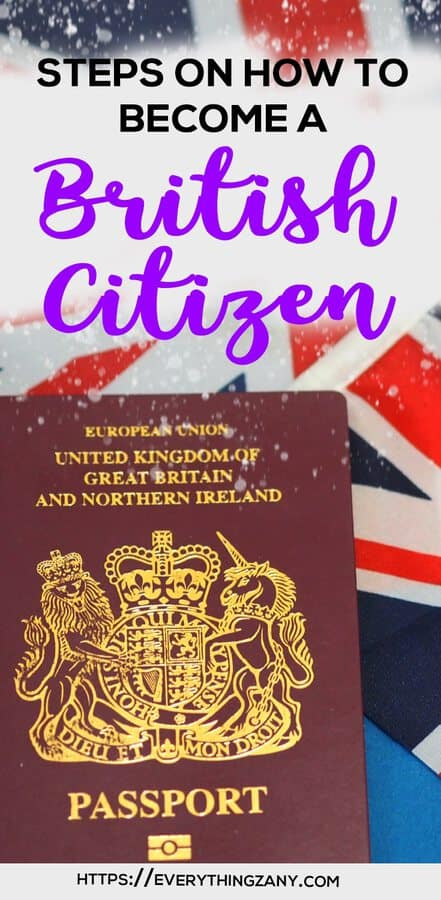 how to get UK Citizenship