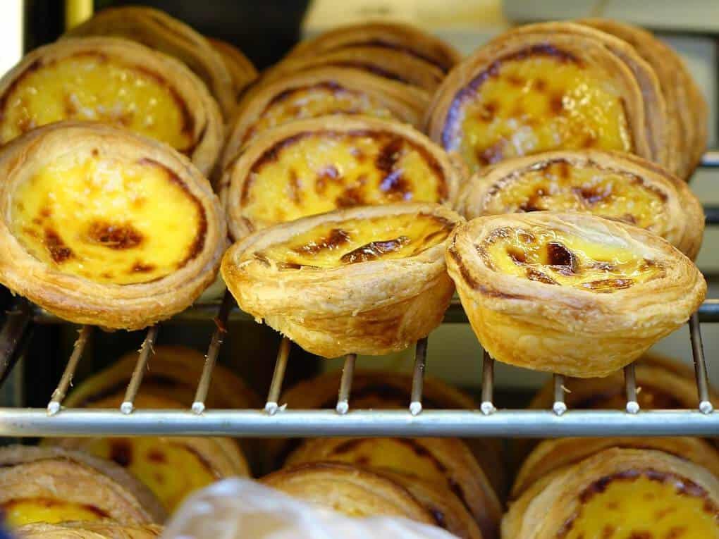 Portuguese egg tart in Macau
