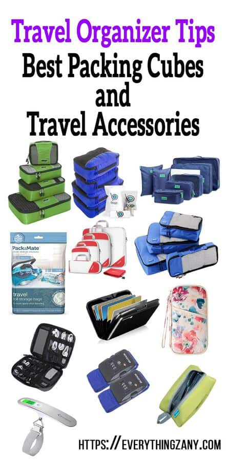 Travel Organizers Best Packing cubes and Travel accessories