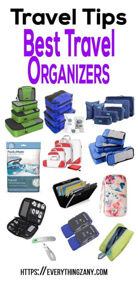 Travel tips best travel organizers