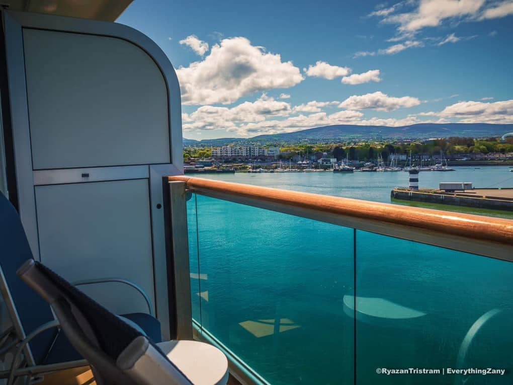 Balcony Cabin View onboard Royal Princess