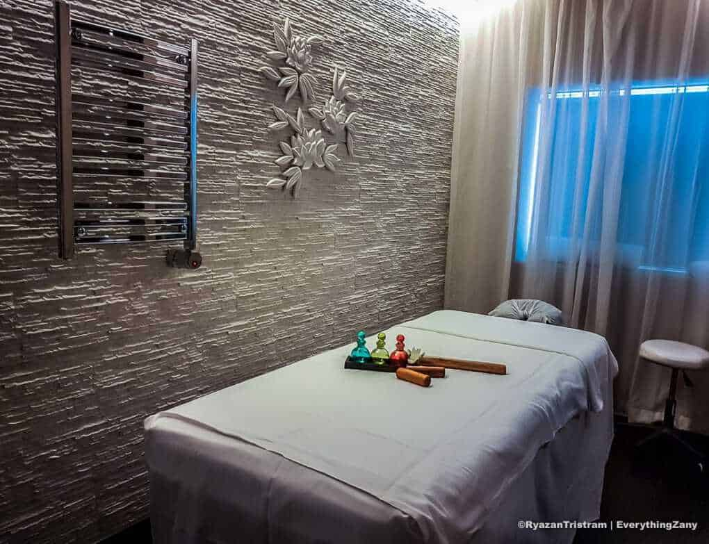 Bamboo Massage treatment in Royal Princess