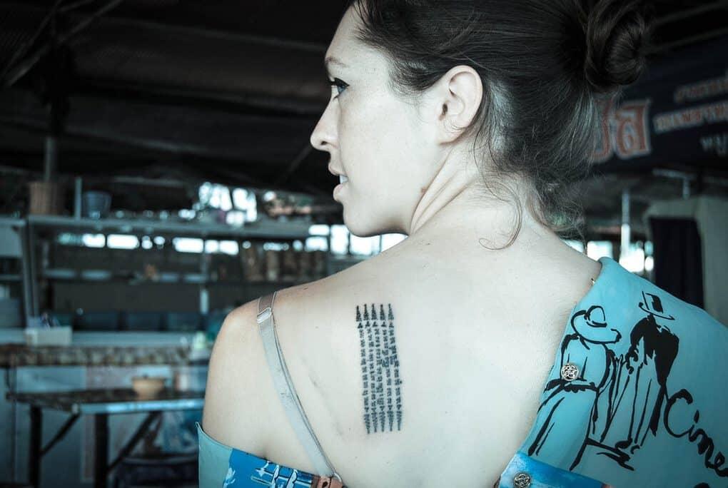 Sak Yant Travel Tattoo