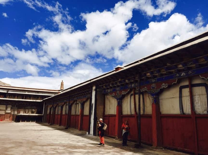 Sakya Monastery West of Shigatse gate