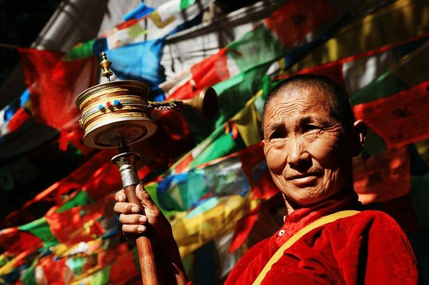 Tibetan Monk