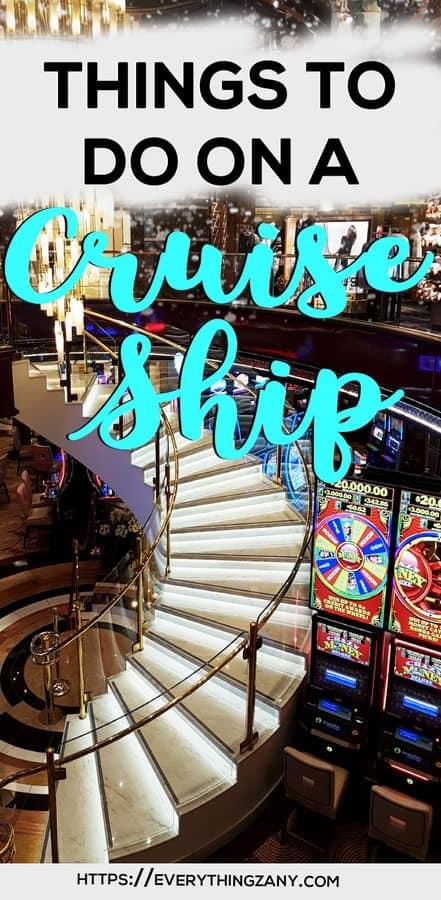 Things to do on a cruise ship Royal Princess