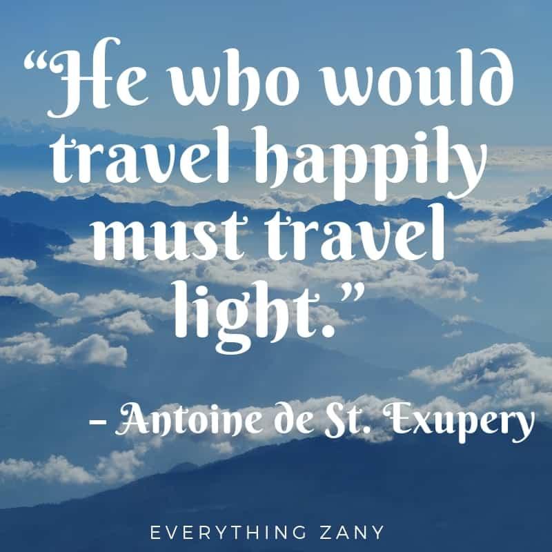 best travel quotes from Antoine de St Exupery