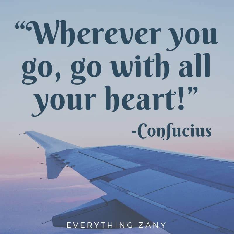 travel quotes from Confucious