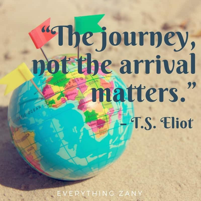 travel quotes from TS Lewis