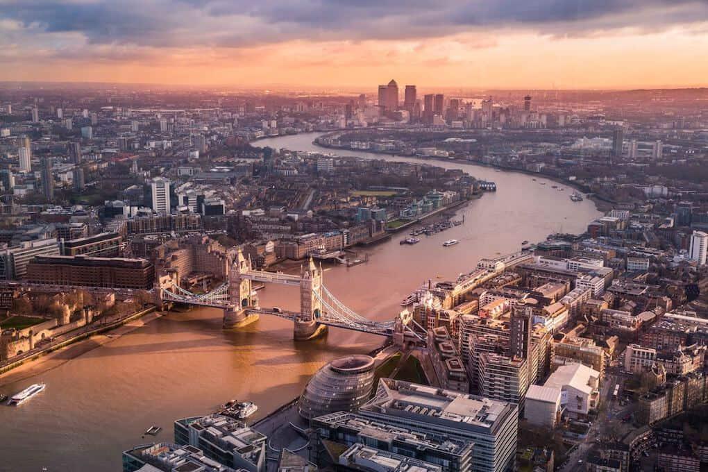 London UK landscape