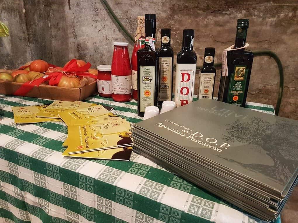 Olive Oil Mill in Pianella Italy