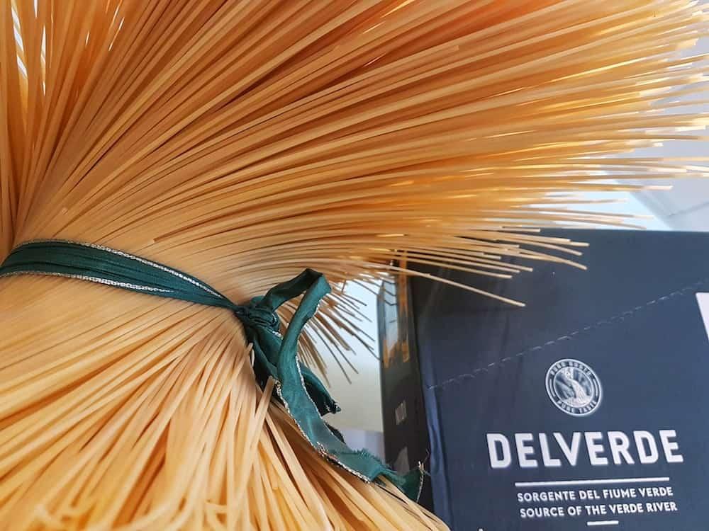 Pasta of Abruzzo Italy