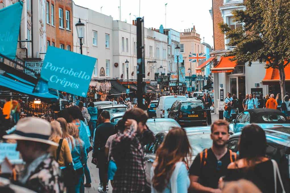 Activities in London:Best Things to Do in London (UK) - Portobello Market