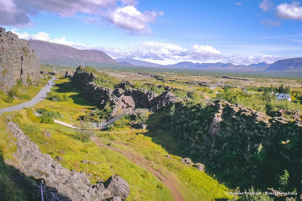 Thingvellir National Park in Iceland Golden Circle tour