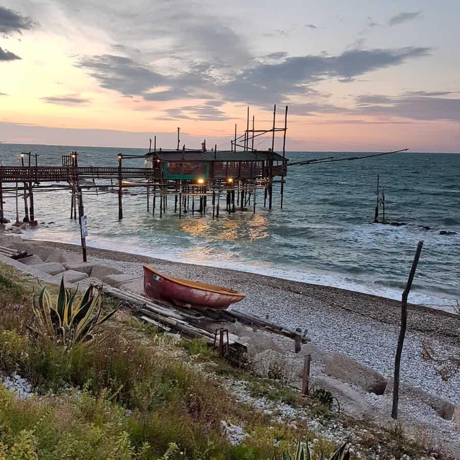 Trabocco in Pescara Abruzzo